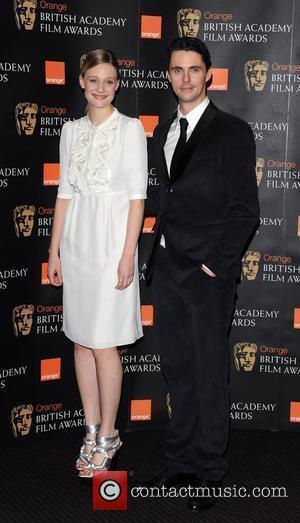 Romola Garai and Matthew Goode