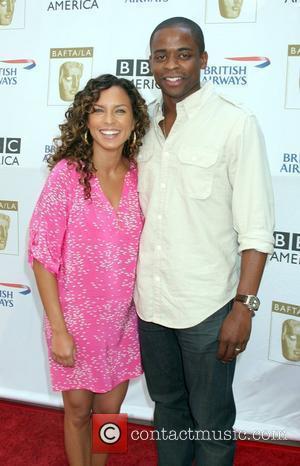 Dule Hill arrives at the BAFTA LA's 2009 Primetime Emmy Awards TV Tea Party at Century Plaza Hotel  Century...