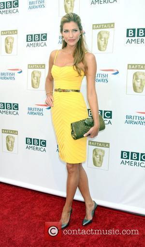 Tricia Helfer arrives at the BAFTA LA's 2009 Primetime Emmy Awards TV Tea Party at Century Plaza Hotel  Century...