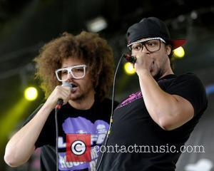 Redfoo and Sky Blu of LMFAO  performing live on stage during The Bamboozle Roadshow at Molson Canadian Amphitheatre. Toronto,...