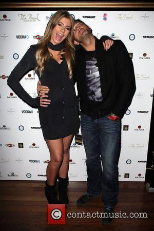 Mike Goldman and Rochelle Fox  celebrate the first birthday of 'The Bank' nightclub, situated in Sydney's red light district...
