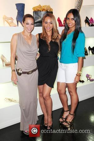 Lisa Pliner Evelyn Lozada and her daughter Shaniece Lozada Dulce Shoe Boutique 1st Anniversary hosted by VH1's 'Basketball Wives' star...