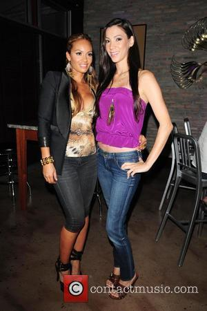 Evelyn Lozada and Suzie Ketcham VH1 'Basketball Wives' premiere party at Bar 721  Miami Beach, Florida - 11.04.10