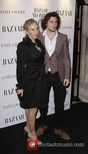 Sam Taylor Wood, Aaron Johnson Harper's Bazaar Woman of the Year Awards 2010 held at One Mayfair - Arrivals...