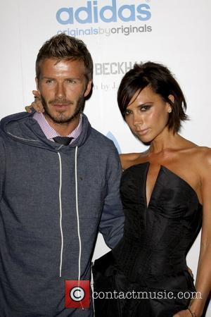 Victoria Beckham, David Beckham, James Bond and Steps