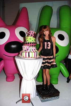 Bella Thorne celebrates her 13th birthday at Siren Studios in Hollywood sponsored by Sugar Factory Los Angeles, California - 09.10.10