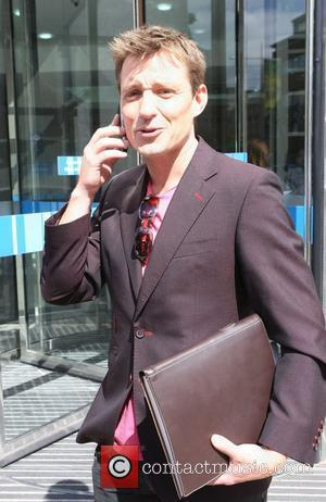 Ben Shephard leaves the ITV studios after filming his final GMTV show London, England - 30.07.10