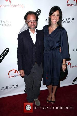 Fisher Stevens and guest 2nd Annual Bent on Learning Benefit at The Puck Building New York City, USA - 28.04.10