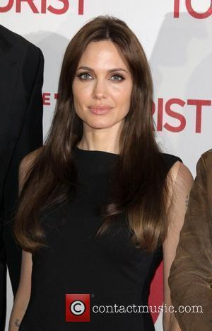 Angelina Jolie at the photocall to promote the film The Tourist at Hotel Adlon. Berlin, Germany - 14.12.10