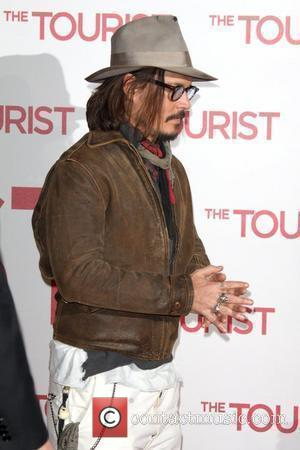 Johnny Depp at the photocall to promote the film The Tourist at Hotel Adlon. Berlin, Germany - 14.12.10