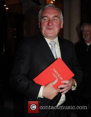 Bertie Ahern, Journey and Tony Blair