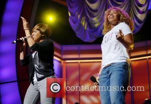 Mary Mary BET Celebration of Gospel Rehearsals held at Orpheum Theatre Los Angeles, California, USA - 10.12.10