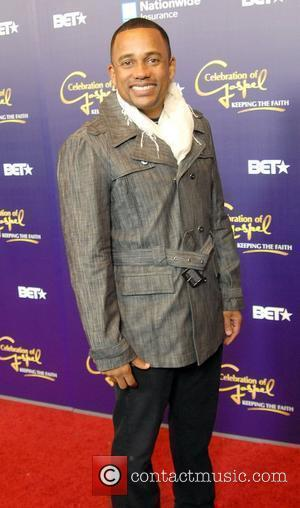 Hill Harper appears on the red carpet for the BET Celebration of Gospel Los Angeles, California - 11.12.10