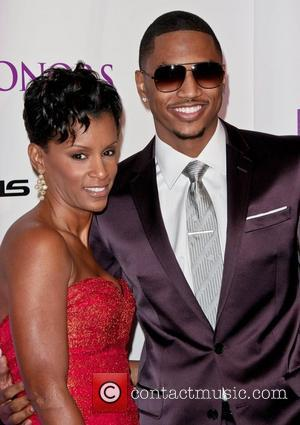 April Tucker, Trey Songz 2011 BET Honors Awards - Arrivals Washington, DC, USA - 15.01.11