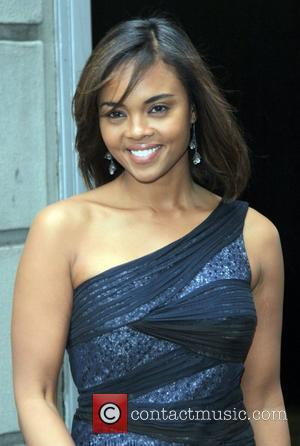 Actress Sharon Leal and Sharon Leal