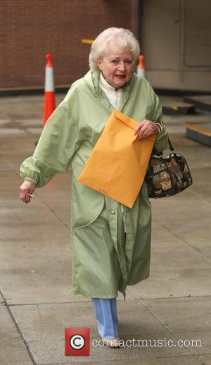 Betty White Leaving a medical building Beverly Hills, California - 20.04.10
