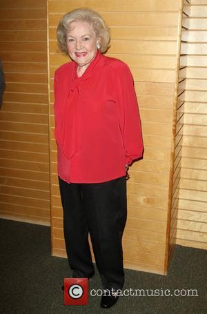 Betty White signs copies of her new book at Barnes & Noble book store in Santa Monica Los Angeles, California...