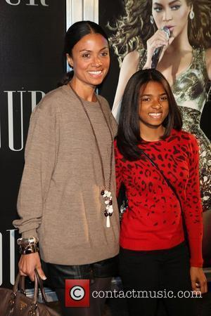 Amel Larrieux and Beyonce Knowles