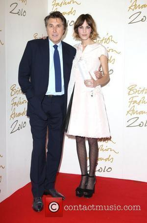 Bryan Ferry and Alexa Chung The British Fashion Awards 2010 - Press Room London, England - 07.12.10