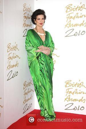 Bianca Jagger The British Fashion Awards 2010 - Press Room London, England - 07.12.10
