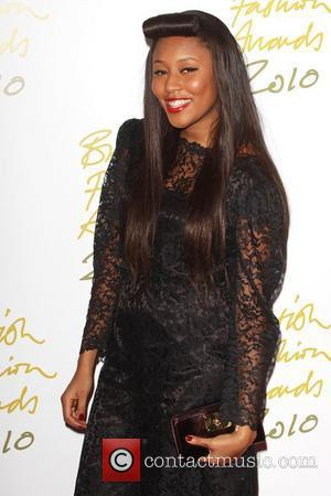 VV Brown The British Fashion Awards 2010 held at the Savoy London, England - 07.12.10