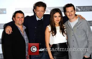Producer Scott Franklin, Vincent Cassel, Mila Kunis and director Darren Aronofsky The 54th Times BFI London Film Festival - 'Black...