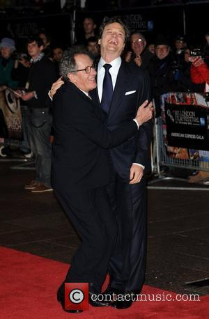Colin Firth and Geoffrey Rush