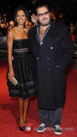 Rula Jebreal and Julian Schnabel 54th BFI London Film Festival - Miral UK film premiere held at the Vue West...
