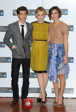 Andrew Garfield, Carey Mulligan and Keira Knightley