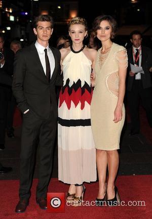 Keira Knightley, Andrew Garfield and Carey Mulligan