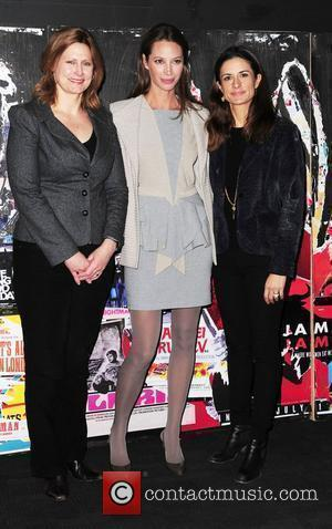 Sarah Brown, Christy Turlington and Livia Firth The 54th Times BFI London Film Festival - No Woman, No Cry -...