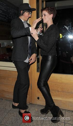 Samuel Pepper and Caoimhe Guilfoyle at the Big Brother 11 wrap party, held at Grace Bar. London, England - 14.09.10