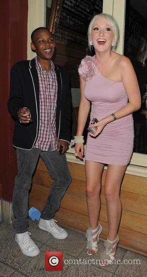 Govan Zachariah Hinds and Laura McAdams at the Big Brother 11 wrap party, held at Grace Bar. London, England -...