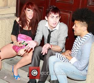 Rebecca Shiner with friends Ex Big Brother housemates enjoy a night out together Liverpool, England - 23.07.10
