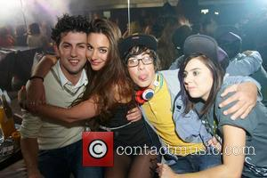 Sam Pepper, Lady Sovereign and Guests Big Brother party hosted by Billi Bhatti held at Embassy London, England - 23.09.10