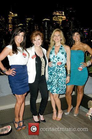Jacqueline Laurita, Caroline Manzo, Dina Manzo, and Teresa Giudice 'The Real Housewives of New Jersey' cast members host a special...
