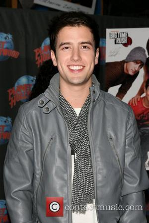 Logan Henderson The cast of Nickelodeon's 'Big Time Rush' appear at Planet Hollywood Times Square New York City, USA -...