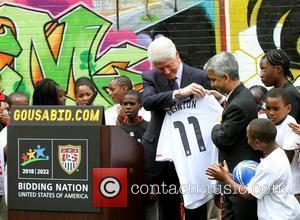 Bill Clinton  became the Honorary Chairman of the USA Bid on (gousabid.com). President Clinton will promote the USA's bid...