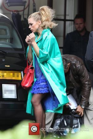 Billie Piper  on the set of 'Secret Diary Of A Call Girl' London, England - 24.08.10