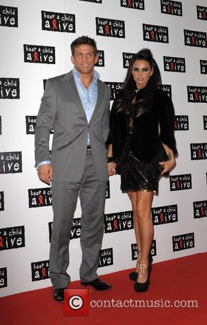 Alex Reid and Katie Price Keep A Child Alive Black Ball at St John's Smith Square London, England - 27.05.10