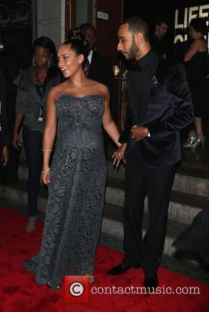 Alicia Keys, Black Ball and Swizz Beatz