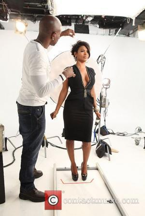 Nia Long poses for the 'Black Girls Rock' photo shoot at Stage Studios  New York City, USA - 14.10.10