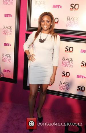 Lauren London  5th Annual Black Girls Rock awards with BET held at the Paradise Theater - Red Carpet Arrivals...