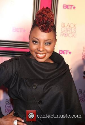 Ledisi  Black Girls Rock and BET Red Carpet Arrivals at the paradisee theater Bronx NY 10 16 10