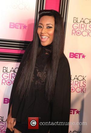 VV Brown  5th Annual Black Girls Rock awards with BET held at the Paradise Theater - Red Carpet Arrivals...