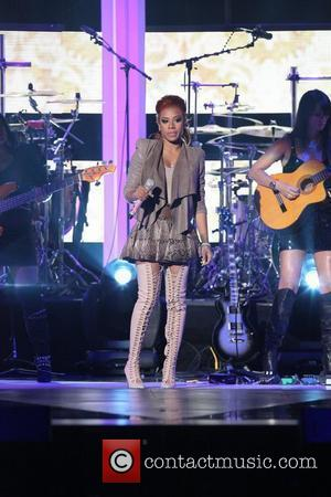 Keyshia Cole 5th Annual Black Girls Rock awards with BET held at the Paradise Theater -  New York City,...