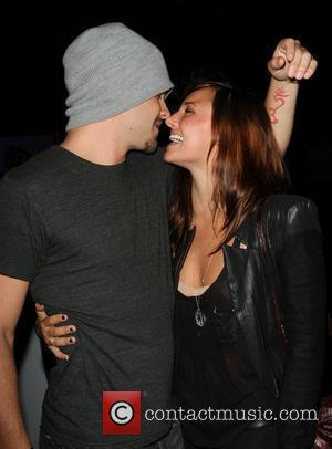 Briana Evigan and new boyfriend, actor Patrick John Flueger  Blackberry Torch From AT&T U.S. Launch Party - Inside Los...