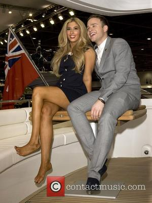 Olly Murs and Stacey Solomon attends a photocall to open the 2010 International Boat Show at ExCel London, England -...