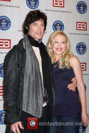 Ronn Moss & Adrienne Frantz Guinness World Records presents The Bold and the Beautiful with the certification as the Most...