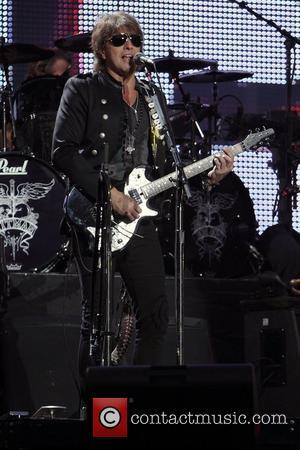 Richie Sambora Bon Jovi performing live in concert on 'The Circle Tour' at Sydney Football Stadium Sydney, Australia - 17.12.10